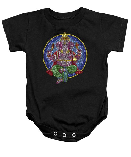 Digital Ganesha Baby Onesie