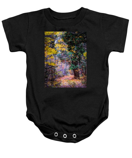 Distant Path Baby Onesie