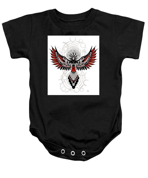 Divine Crow Woman Baby Onesie