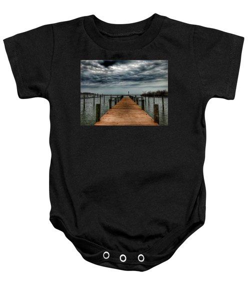 Dock Of The Bay Baby Onesie