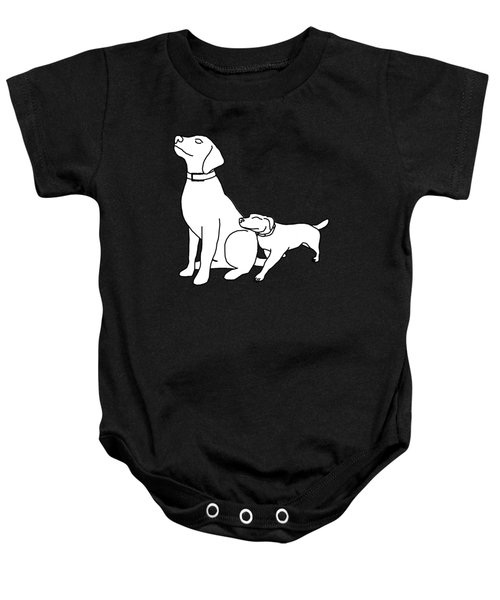 Dog Love Tee Baby Onesie
