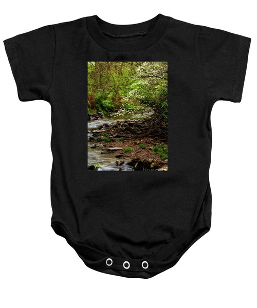Dogwood At The Bend Baby Onesie