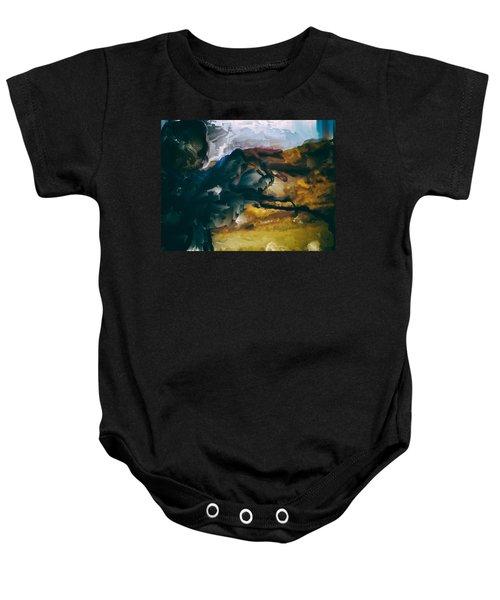 Donald Rumsfeld Gwot Vision Baby Onesie by Brian Reaves