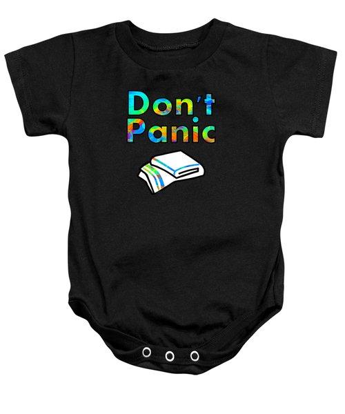 Don't Panic Baby Onesie