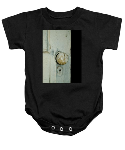 Door Is Open Baby Onesie