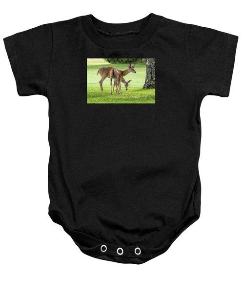 Double Deer Baby Onesie