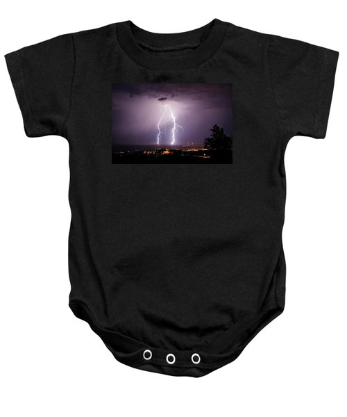 Double Trouble Baby Onesie