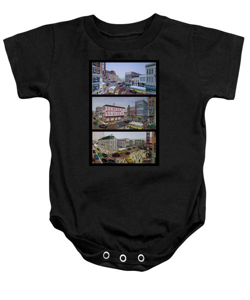 Downtown Portsmouth 1948 Baby Onesie