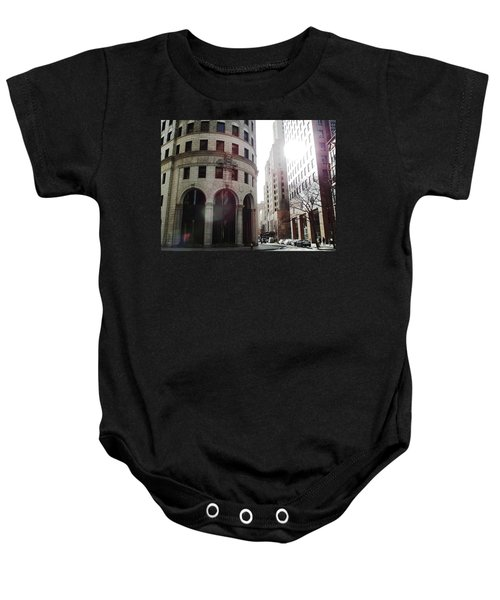 Downtown Providence Baby Onesie