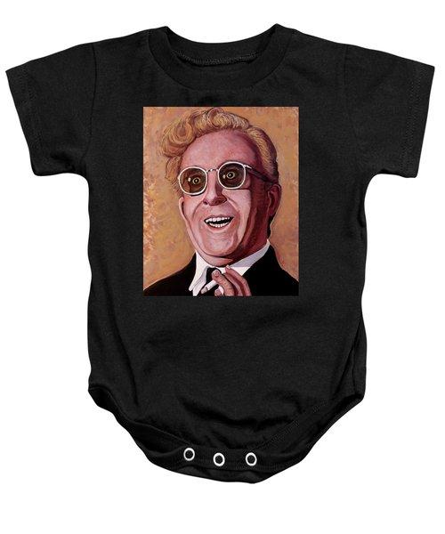 Dr. Strangelove 3 Baby Onesie by Tom Roderick
