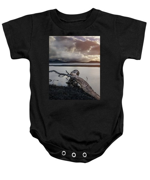 Driftwood At The End Of The World Baby Onesie