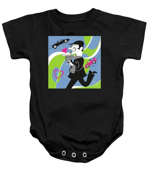 Driven To Love Baby Onesie