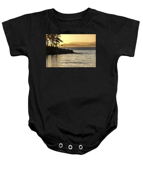 Dusk On Sucia Island Baby Onesie