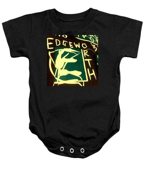 E Cd Cover Art Baby Onesie