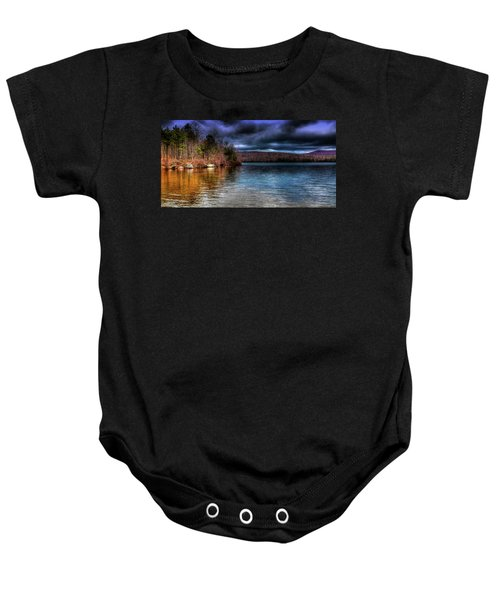 Baby Onesie featuring the photograph Early May On Limekiln Lake by David Patterson