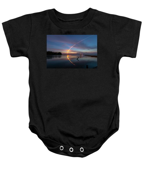 Early Morning Launch Baby Onesie