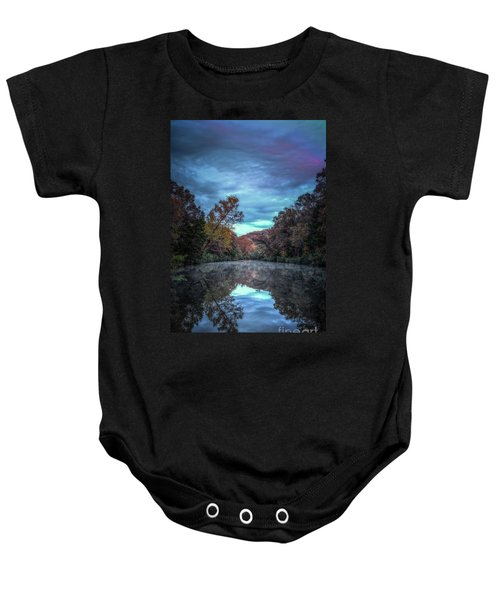 Early Morning Reflection Baby Onesie