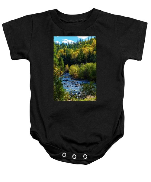 East Fork Autumn Baby Onesie