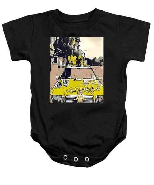 East Side Electric Baby Onesie