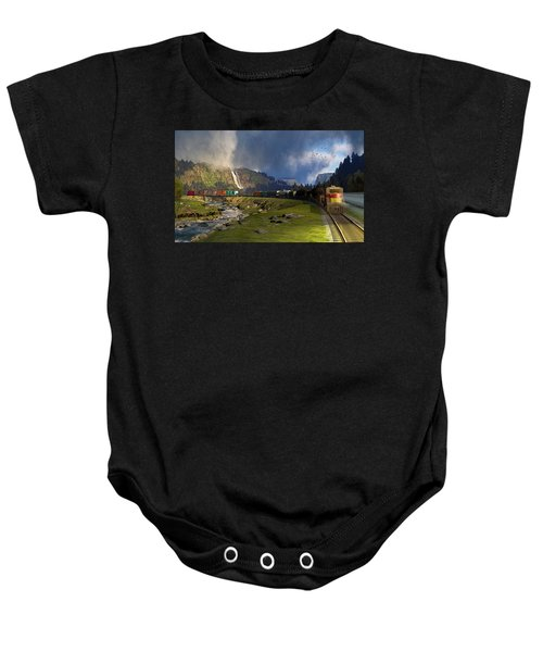 Echoes From The Caboose Baby Onesie