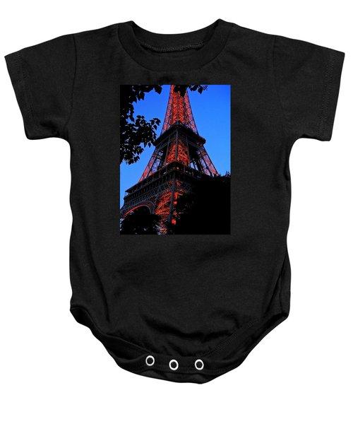 Eiffel Tower Baby Onesie