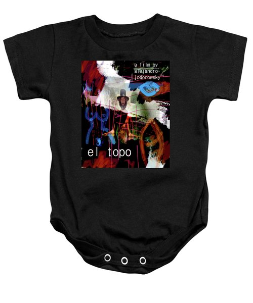 El Topo Film Poster  Baby Onesie