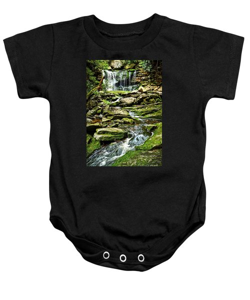 Elakala Falls At Blackwater Falls State Park Baby Onesie