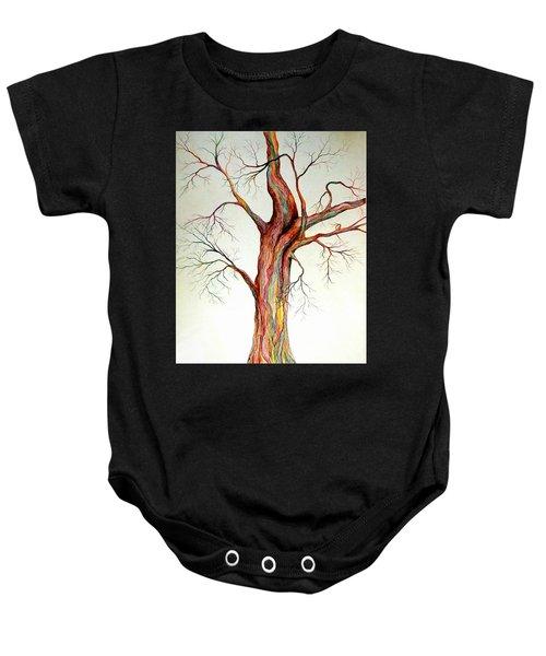Electric Tree Baby Onesie