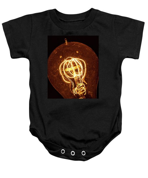 Electricity Through Tungsten Baby Onesie