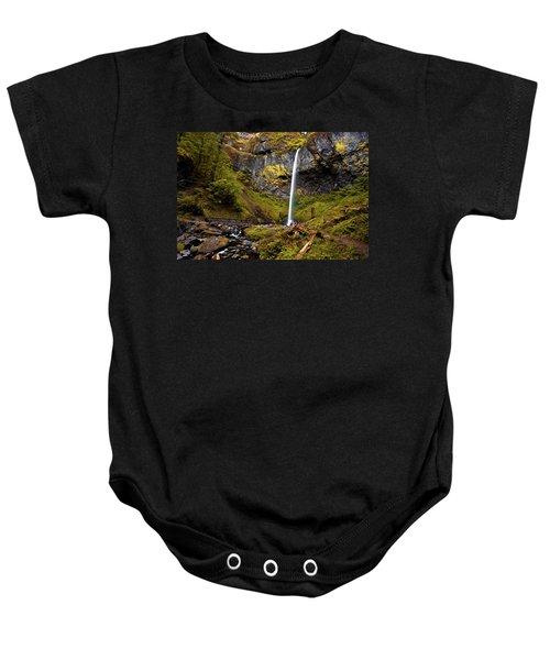 Elowah Falls Oregon Baby Onesie