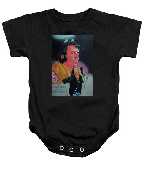 Elvis And Jon Baby Onesie