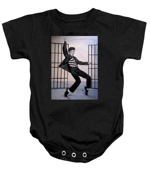 Elvis Presley Jailhouse Rock Baby Onesie