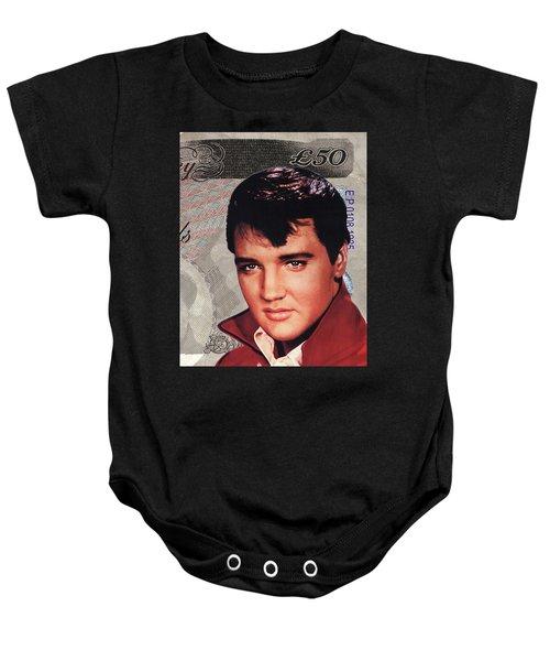 Elvis Presley Baby Onesie