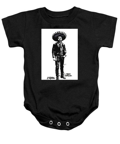 Emiliano Zapata Baby Onesie