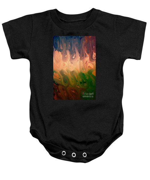 Emotion Acrylic Abstract Baby Onesie