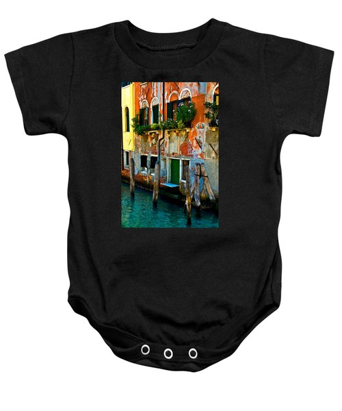Empty Dock Baby Onesie