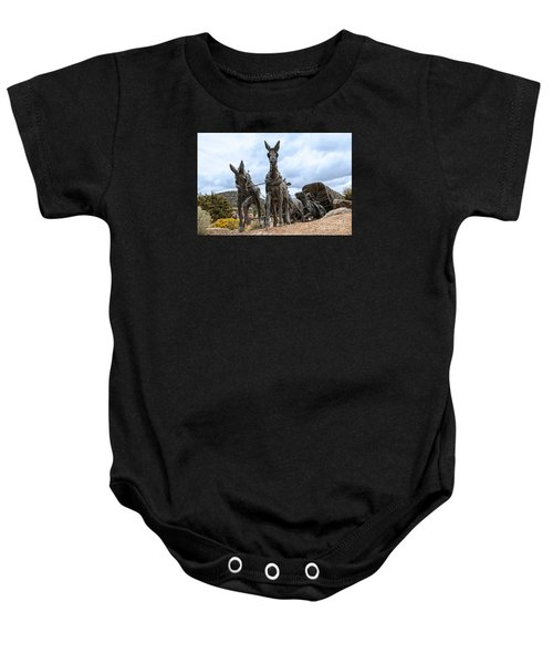 End Of The Long Trail Baby Onesie
