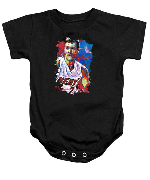 Enter The Dragon Baby Onesie by Maria Arango