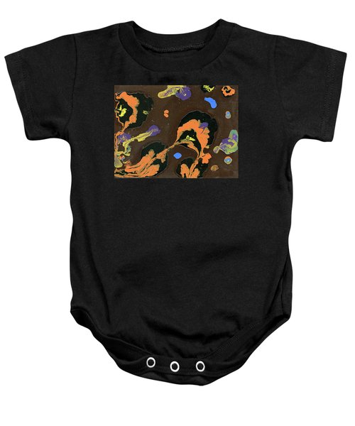 Eroded And Corroded Baby Onesie