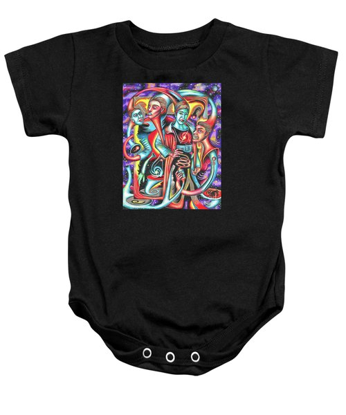 Eternal Discord Of Entwined Temptations Baby Onesie