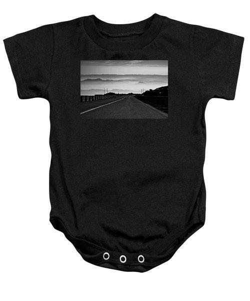 Etna Road Baby Onesie