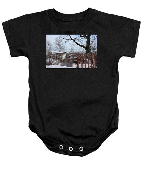 Evanston Winter Baby Onesie