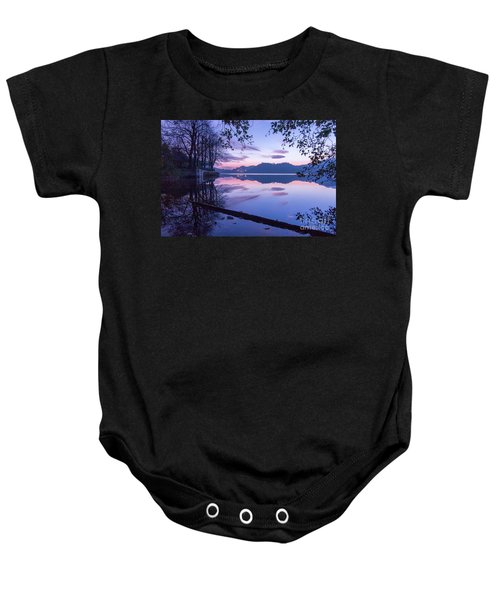 Evening By The Lake Baby Onesie