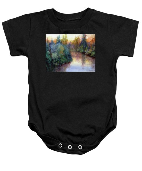 Evening On The Willamette Baby Onesie