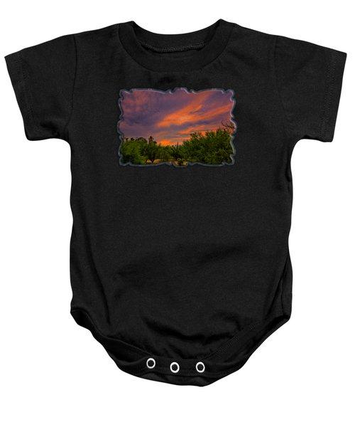 Evening Sky Op54 Baby Onesie