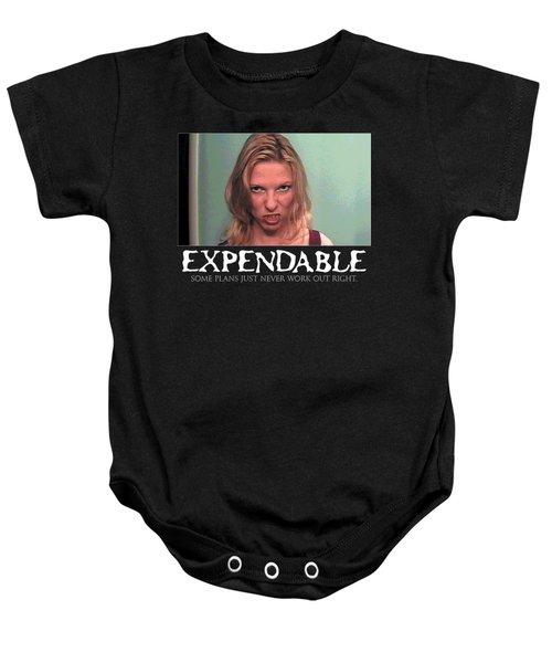 Expendable 10 Baby Onesie
