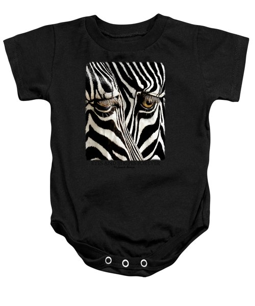 Eyes And Stripes Forever Baby Onesie