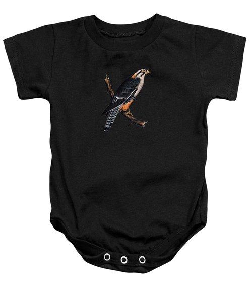 Falcon Aplomado Falcon Baby Onesie