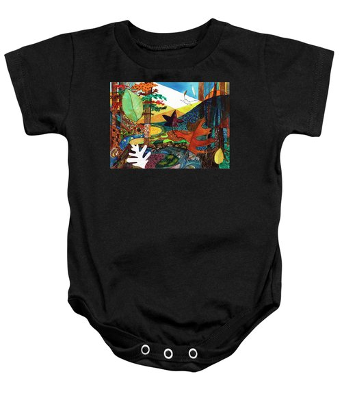 Fall Along The Patuxent Baby Onesie