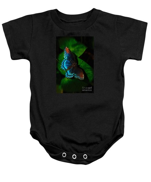 Fall Butterfly Baby Onesie